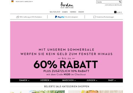 Boden gutschein 70 gutscheincode oktober 2017 for Boden mode gutschein