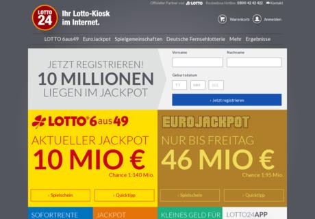 Gutschein Lotto 24