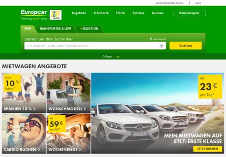 Gutscheincode europcar september