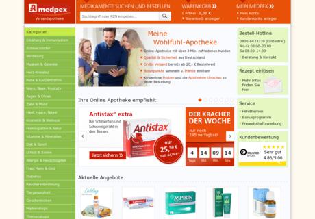 Medpex apotheke gutschein