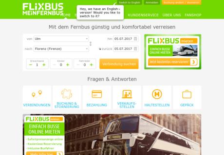isic meinfernbus