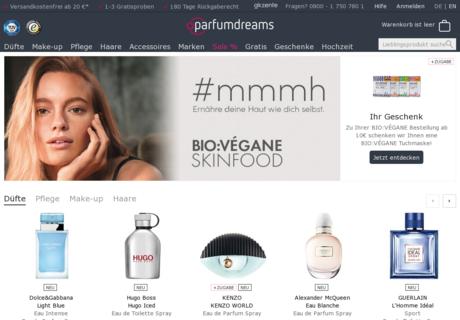 parfumdreams gutschein 10 gutscheincode oktober 2017. Black Bedroom Furniture Sets. Home Design Ideas