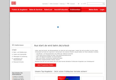 start.de